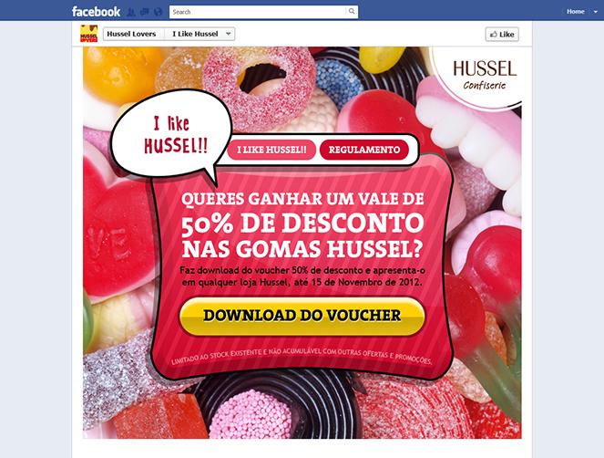 Hussel | Campanha 50% Desconto