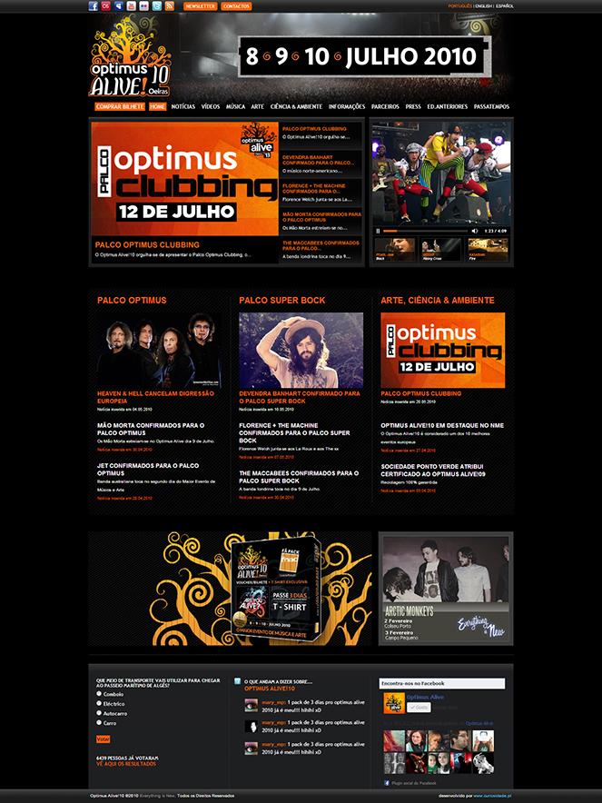 Optimus Alive   Site 2010