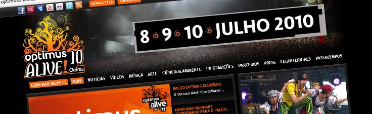 Optimus Alive | Site 2010