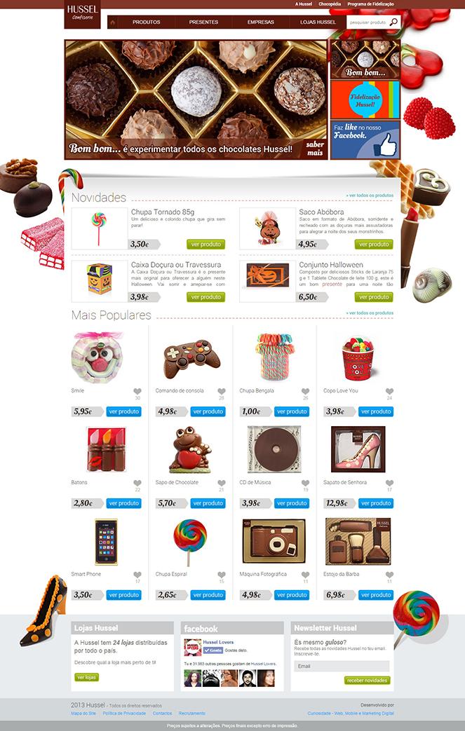 Novo Site HUSSEL - Homepage