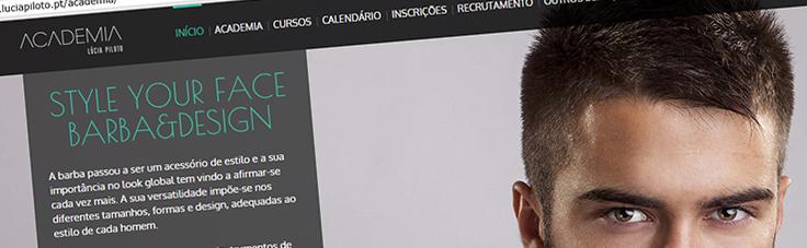 Lúcia Piloto Academia | Website 2014